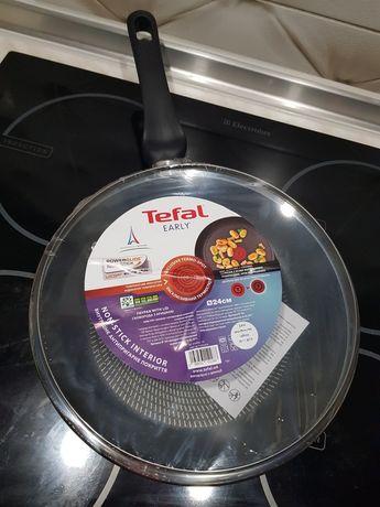 Сковородка Tefal Early с крышкой 24 см