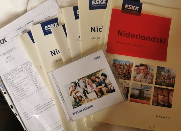 ESKK - niderlandzki dla początkujących lekcje 1-18 + płyta CD