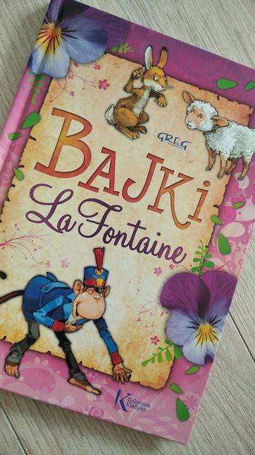 Bajki La fontaine o zwierzątkach greg