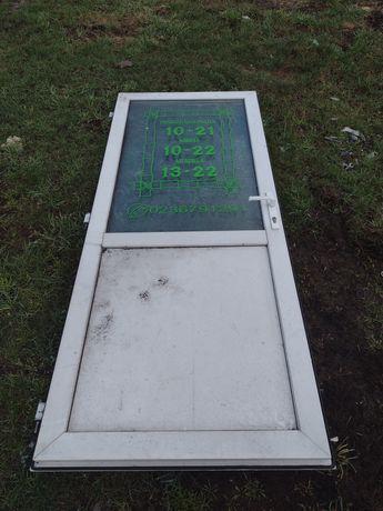 Drzwi pcv z demontażu