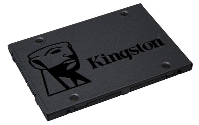 "Disco SSD Kingston A400 2.5"", 480GB, SATA 3, 7mm (Novo)"