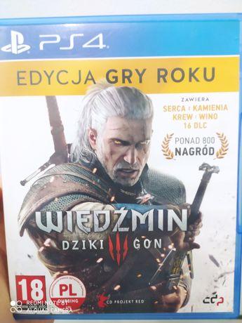 Wiedźmin 3 edycja gry roku goty ps4