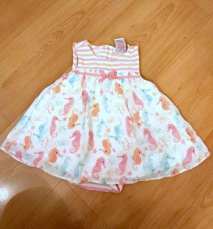 Jillian's Closet sukienka w rozm. 74 / 6-9 m-cy