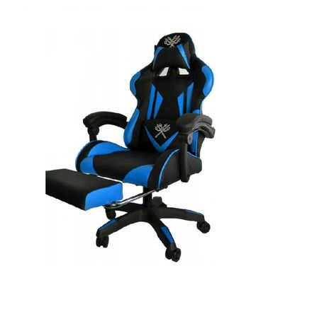 FOTEL GAMINGOWY Fotel Obrotowy Krzesło Biurowe - 2 Kolory Do Wyboru