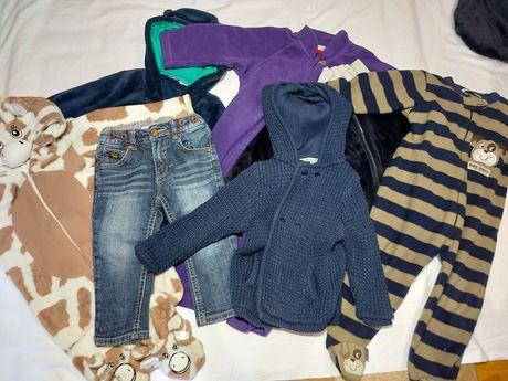 Одяг, піжама, кофта, штани комбінезон 86 розмір. 18 місяців