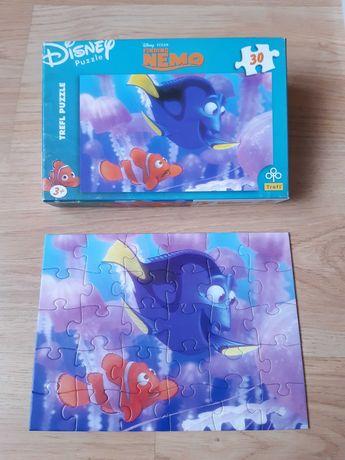 Trefl puzzle 30 Gdzie jest Nemo + sakiewka gratis