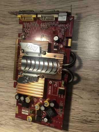 Karta graficzna MSI GeForce  7600GT 256MB 128BIT DDR3 TV