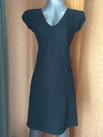 Маленькое черное платье хлопок коттон cotton черное