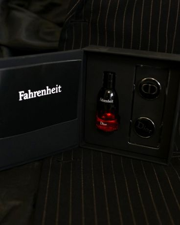 Christian Dior Fahrenheit (parfum in France + запонки)