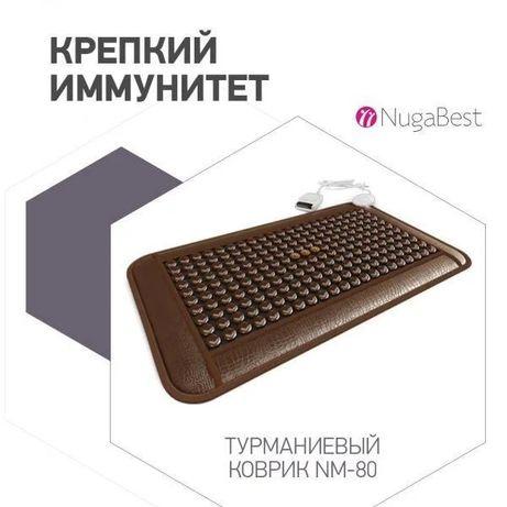 Прогревающий турманиевый коврик NUGA BEST NM 80 (758х440х20мм)