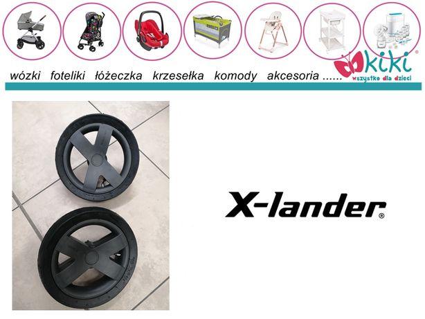 koło do wózka x-lander tylne 2 sztuki komplet nowe 10 X 2 1/4