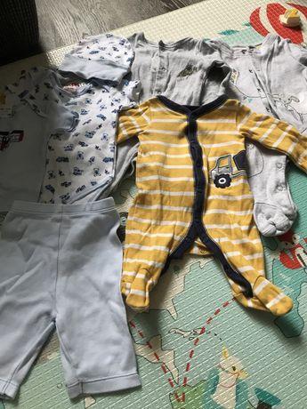Вещи для новорожденного carters, john lewis, mamas&papas