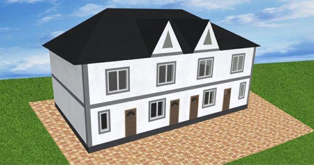 Продам дом , таунхаус ( котедж ) на Ленпоселке со своим двором