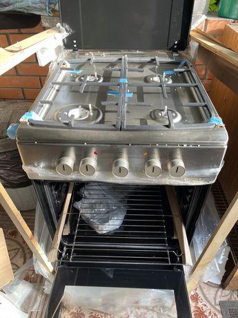 Газовая плита с электродуховкой ,,Hansa FCMX53021 .новая в упаковке.
