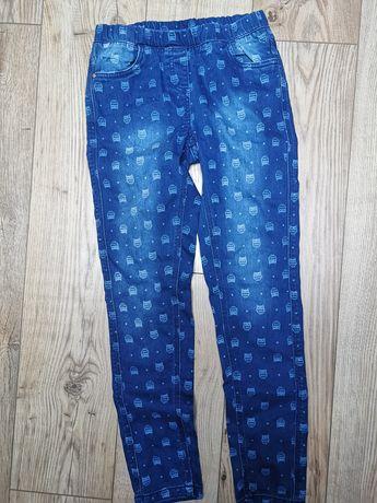 Spodnie dziewczece 158