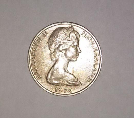 10 центов 1976 г Новая зеландия