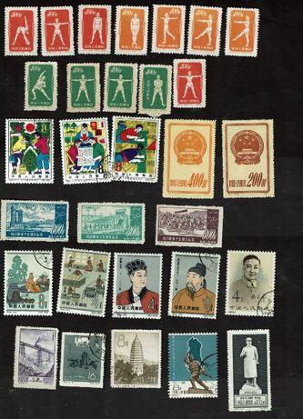 Chińskie znaczki chiny