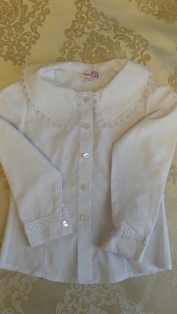 Блуза школьная для первоклашки