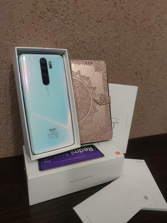 Xiaomi Redmi Note 8 Pro 6/64 White + чехол. Идеальное состояние