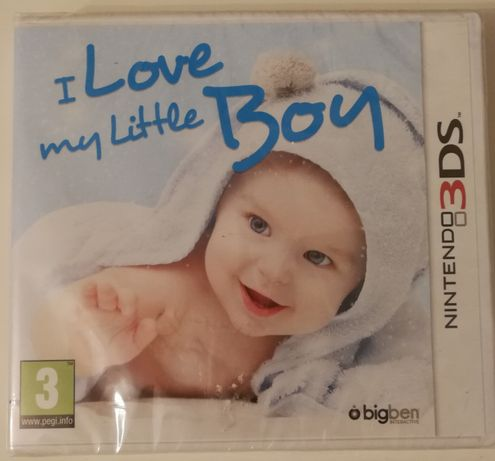 "Gra ""I love my little boy""-Nintendo 3DS NOWA"