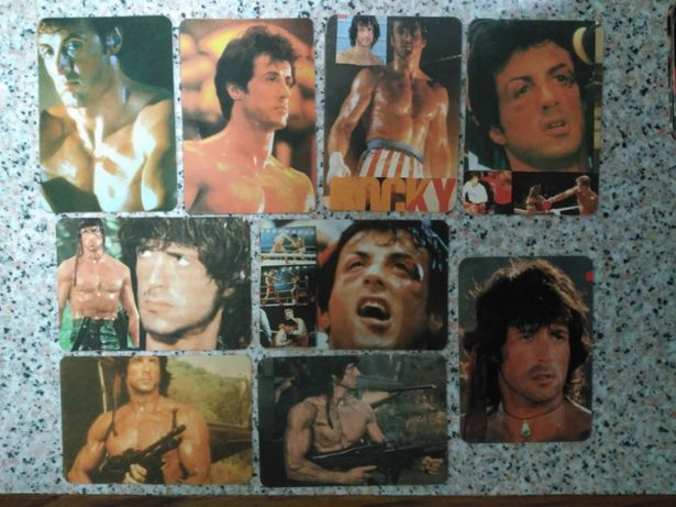 Calendários de bolso - Rocky