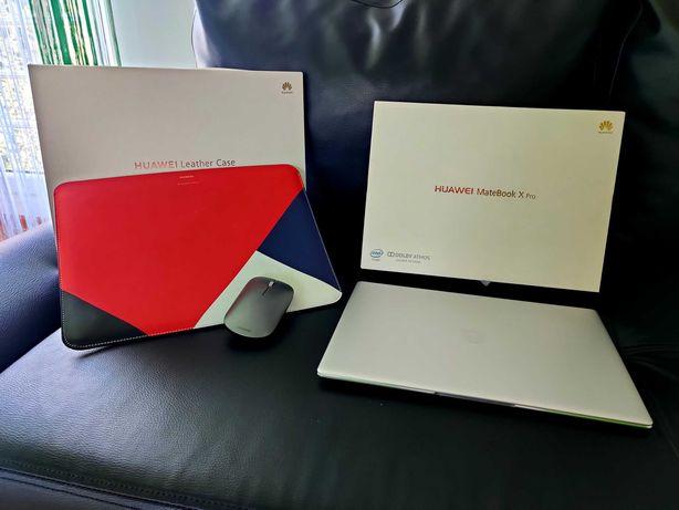 HUAWEI Matebook X Pro 2018 + NFC | WIN 10 / 11 | + mysz | + etui skóra