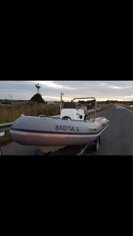 Barco semi rigido Tohatsu