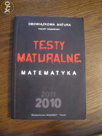 testy maturalne matematyka
