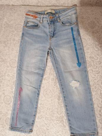 Spodnie Jeansy dla dziewczynki