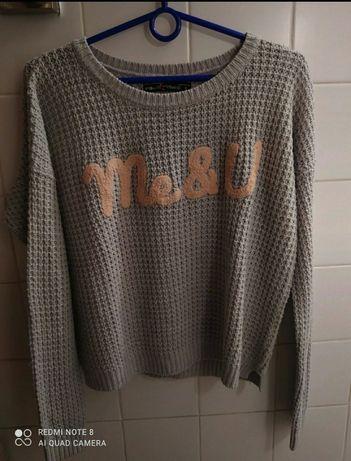 Sweter Me&U Fb Sister knit wear S Nowy