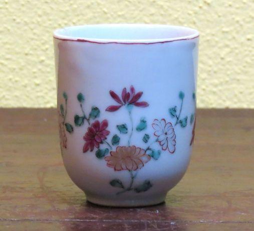 Chávena companhia das Índias Família Rosa Período Qainlong