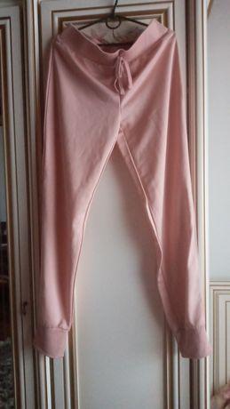 Спортивные штаны, пудровые next, hm, bershka