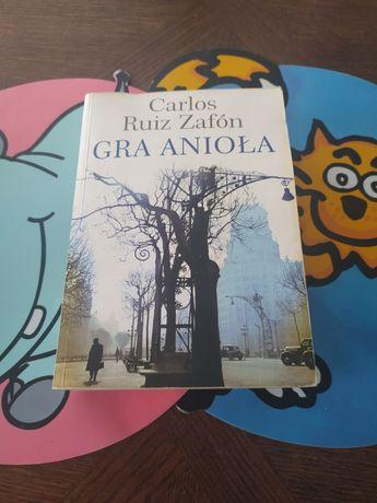 Carlos Ruiz Zafon Gra anioła książka