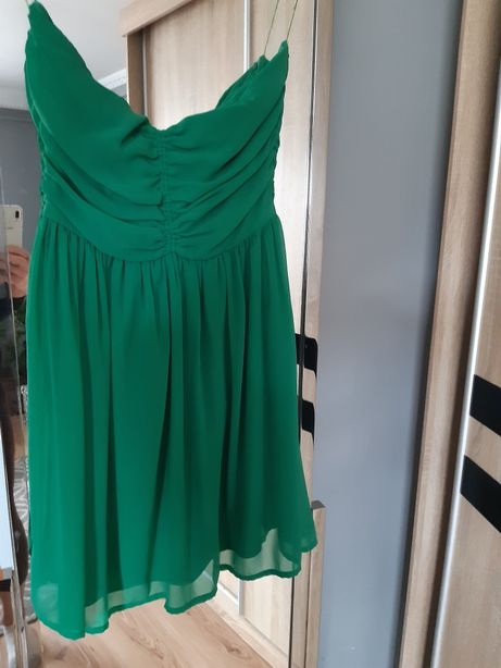 Sukienka zielona zara