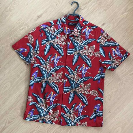 Рубашка Гавайская Primark River Island ( Diesel)
