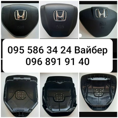 Крышка заглушка накладка руля подушка безопасности airbag Honda Civic