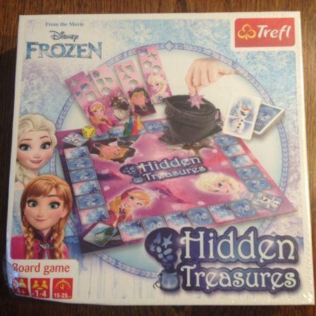Gra Frozen - Kraina Lodu - Ukryte skarby - TREFL