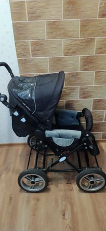 Продам коляску 2 в 1 ABC Design Pramy Luxe Black