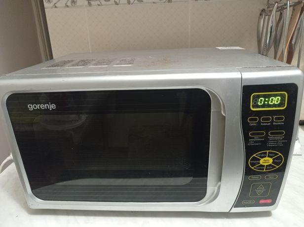 Микроволновая печь Gorenje MO-230 гриль.
