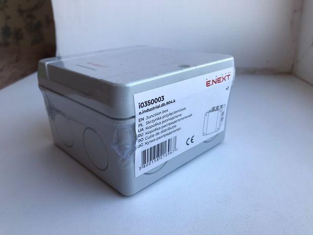 Коробка распределительная 98х98х61 с клеммной колодкой ENEXT