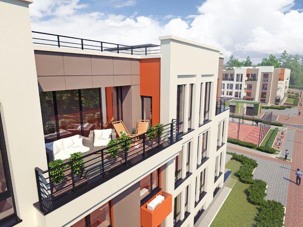 Продам 1 квартиру. Панорамные окна. Малоэтажный дом. Лес. РАССРОЧКА