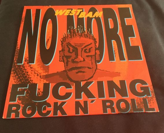 Vinil Westbam - No More F#cking Rock And Roll