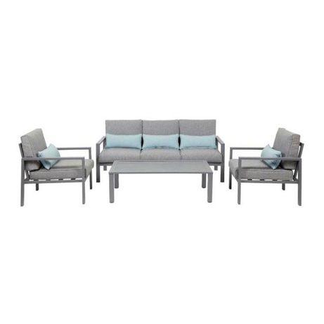 Fotel z poduszkkami + stolik Blooma Nymark MEBLE OGRODOWE balkonNOWE!