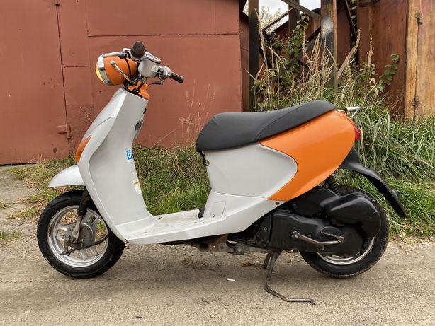 Срочно! Ретро Скутер Suzuki Let's 4 Pallet Инжектор 4-х тактный Мопед