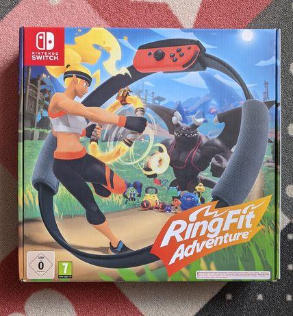Nintendo RingFit Adventure JAK NOWE