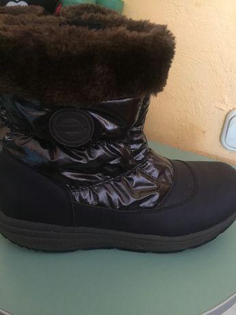 Зимние, ортопедические сапоги. 41 размер на широкую ногу.