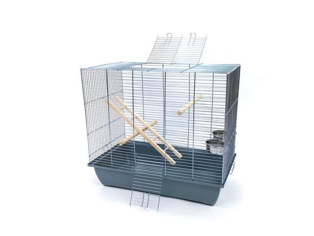 Klatka dla ptaka Mega2 - papugi, kanarka - Nowa