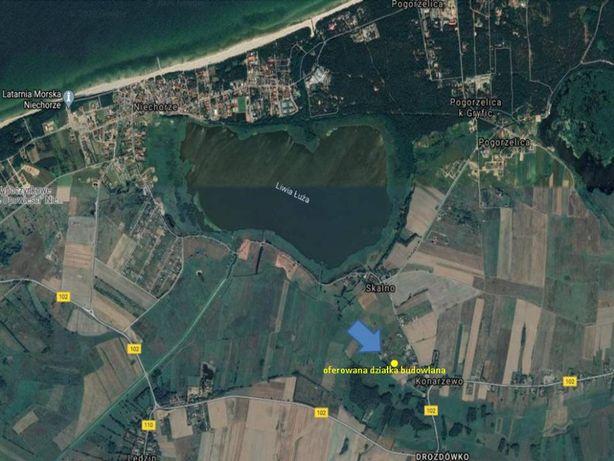 działkę budowlaną 1364m2 sprzedam Konarzewo p. gryficki