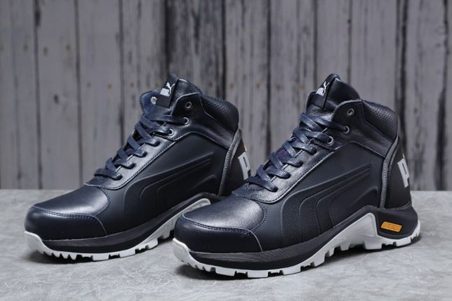 Пума, натуральный мех. Обувь ЗИМА! ботинки Puma G-Step. Мужские