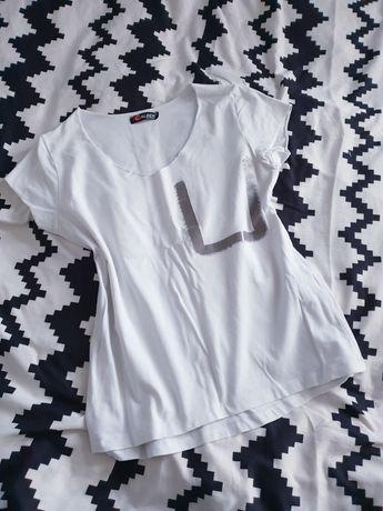 Biała bluzka L 40